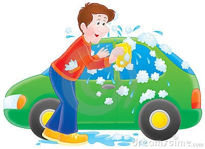 Pics Photos - Cartoon Image Of Two Kids Washing A Car